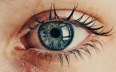 a wide eye