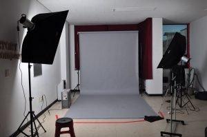 video recording backdrop